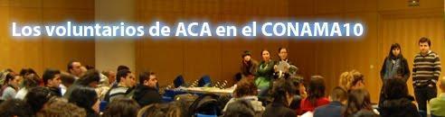 Logo blog Los voluntarios de ACA en el CONAMA10