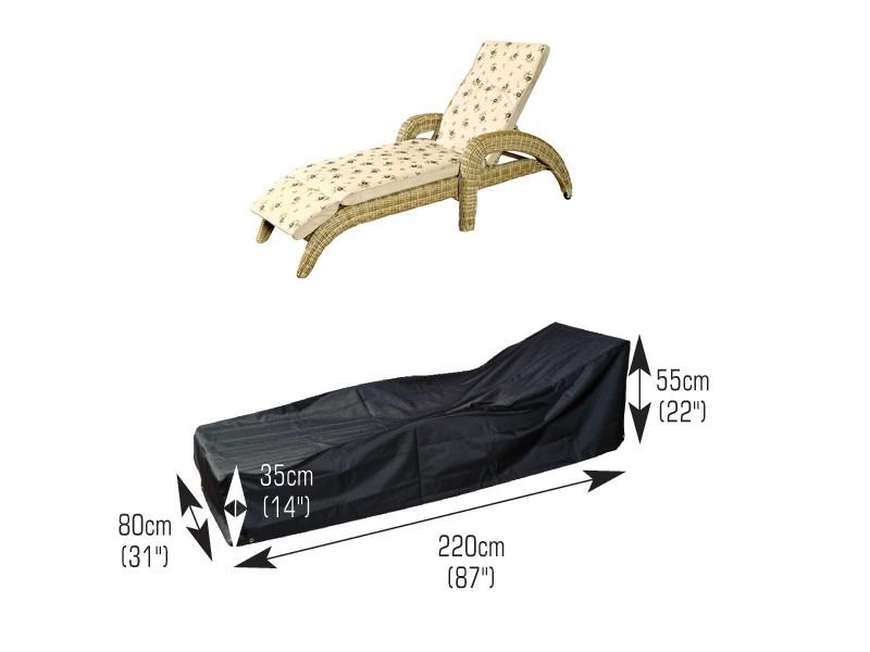 Funda tumbona modular marca bosmere fundas para muebles - Utiles de jardineria ...