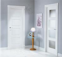 Puertas lacadas en blanco de interior o de paso puertas - Puertas de interior blancas precios ...